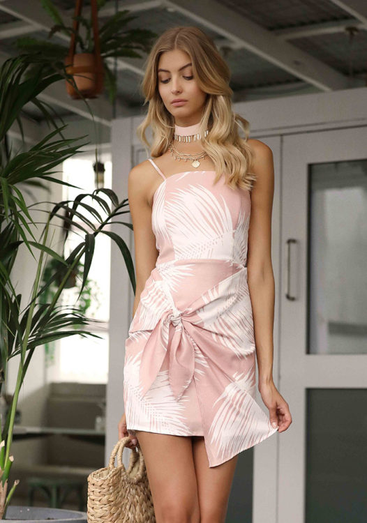 Tropical Dream Dress in Blush3